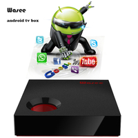 Newset Unique Smart tv box Q1 Wifi tv box Amlogic S905W Wasee brand Android arabic iptv set top box