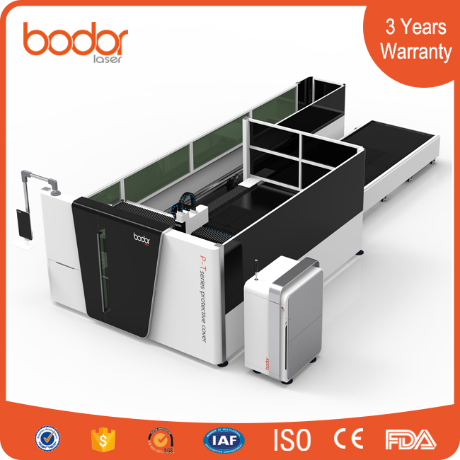 2017 world business bodor All Cover Exchange Platform metal plate tube Fiber Laser Cutting Machine wholesale