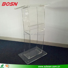 Top Quality Clear Acrylic Podium Church For Sale