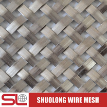 Shuolong Mesh Rigid Series XY-712X Stainless Steel Architectural Metal Fabrics for Ceilings
