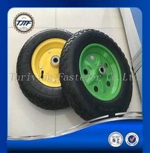 Manufacture suppliers pneumatic wheel 4.00-4 wheelbarrow tyre