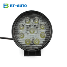 4.3 inch Round Shape Car Trcuk Offroad 27w LED Flood Spot Work Light