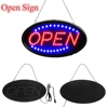 LED Christmas oval open sign