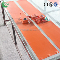 silicone rubber heater electric heating carpets flexible carbon heat film