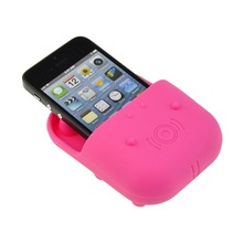 mini mobile phone Hippo Universal loudspeaker silicone amplifiers