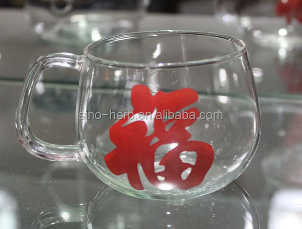 Good Design Chinese Tea Accessories Small Glass Tea Cups