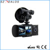 2.7 Inch LCD Best Quality Dual lens Mini Hidden Car Dvr Camera