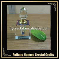 K9 crystal design craft art deco perfume bottles with high quality and nice shape