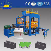 Top Sale! QT5-15 fly ash brick making machine in india price small scale industries machines