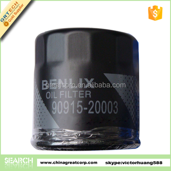90915-20003 auto parts engine oil filter for Toyota