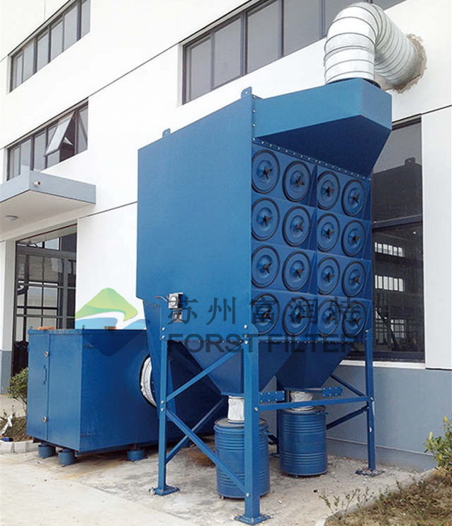 FORST Industrial Cyclone Dust Filter Removal For Collection