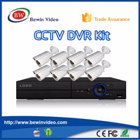 8CH 720P AHD DVR/ Digital Video Recorder H 264 NVR P2P Cloud CCTV DVR