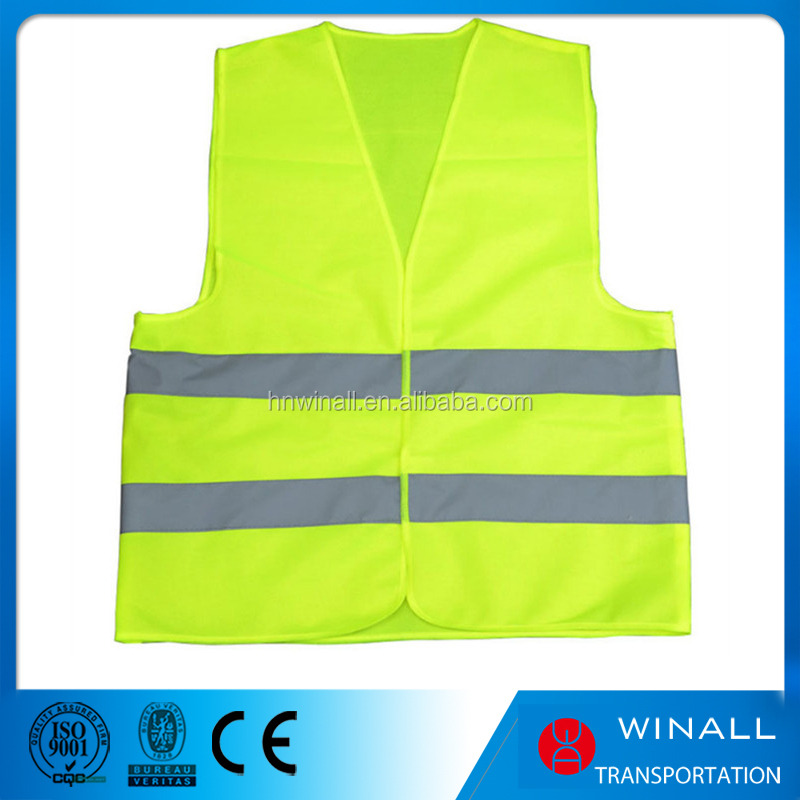 Road safety class 2 green walking cheap reflective vest factory