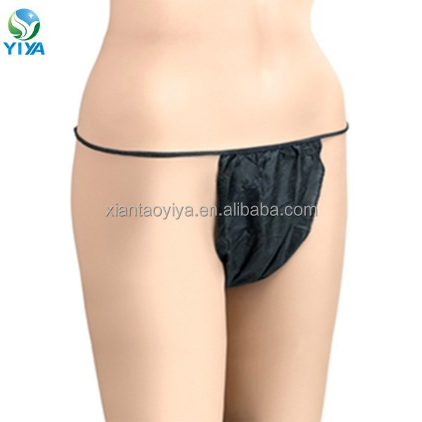 Beauty lady special use tanga for spa yoga bath in single use