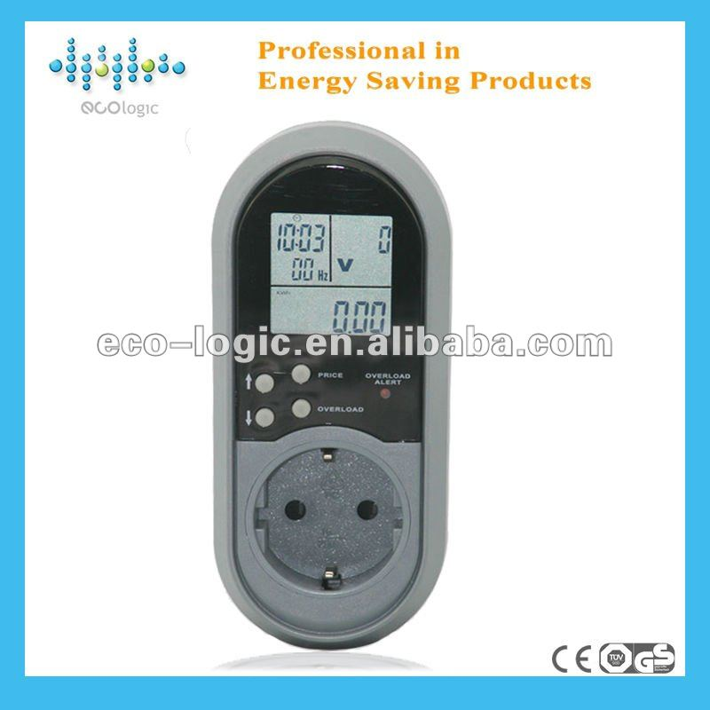 2012 Europe electric energy meter box lcd display case induction secure ltd volt kwh ampere display