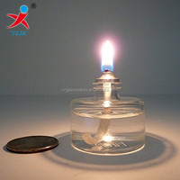 decorative mini glass oil lamps wholesales