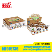 Hot New Products for 2014 3-in-1 24PCS Kids Gift Plastic Building Blocks Toy