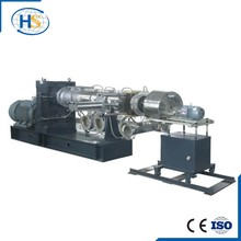 Single Screw Plastic Bottle Recycling Extruder Machine