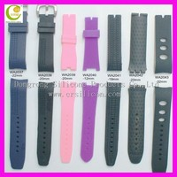 Sport style replacement watch band, silicone sport watches, silicone watch bands food grade OEM ODM