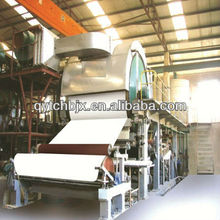 1575mm single-cylinder and single-wire paper making machine