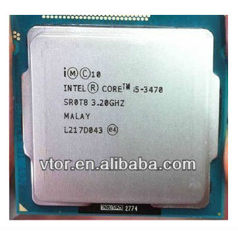 Low Price Intel Core i5-3470 SR0T8 LGA1155 Dual Core 6MB Second Hand Computer Cpu