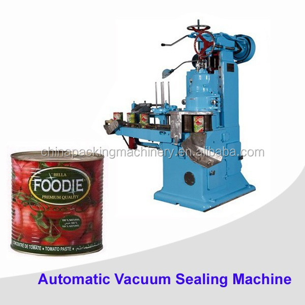 Automatic vacuum food can sealer