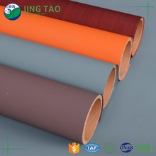 Jingtao furniture decorative wood grain pvc lamination film for Window frame