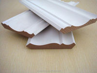 CARB P2 MDF mouldings white primed /paper or pvc coated