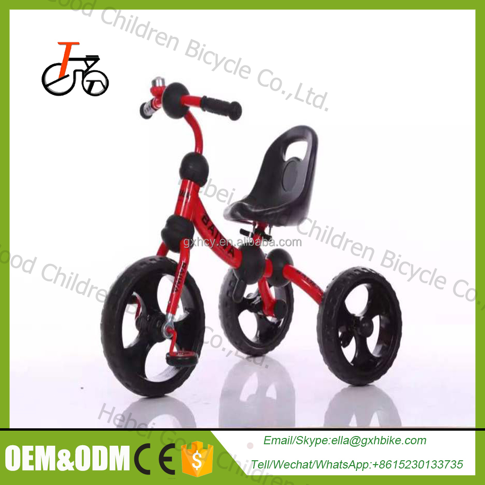 2016 hot sell safe and comfortable baby tricycle /kids tricycle for kids / custom tricycles for kids