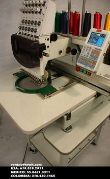 ButterFly B-1201B/T embroidery machine (bordadora)