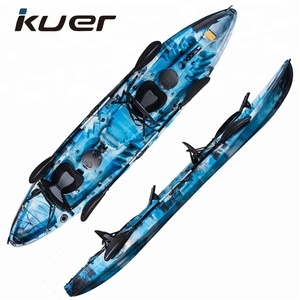 Family 3 person fishing and recreation kayak wholesale