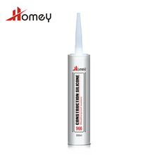 Homey 966 aluminum and glass neutral senior silicone weatherproof sealant