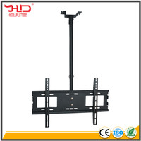 Chinese factory retractable swivel tv ceiling mount for 32-60'' screen