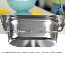 LFGB & NSF Approve Heavy Duty Stainless Steel gn pan parts for kitchen hood