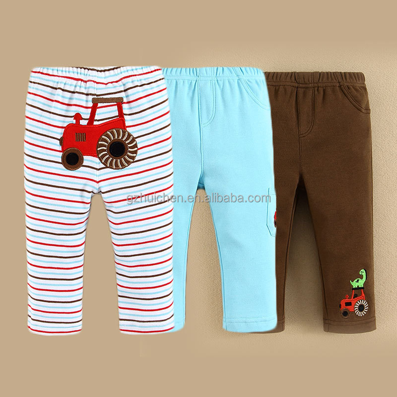 China Baby Clothing Factory Design Embroideried Baby Trouser