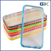[GGIT] New Arrival Solid Color Anti-shock TPU & PC Phone Case for iPhone Case