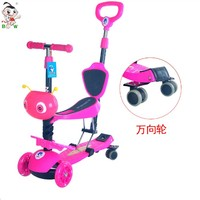 Low price metal pedal cars scooter children push skate scooter for kids