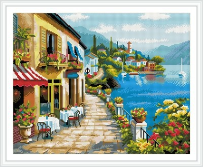 GZ244 hot sale embroidery kit diy crystal diamond mosaic painting for living room decor