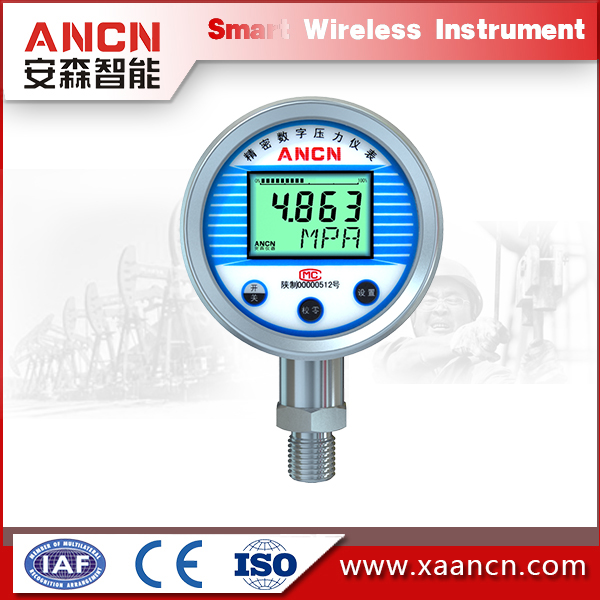 Oil and gas and air pressure measurement small pressure gauge