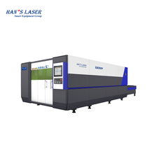 Hanslaser G3015MF 3000W Fiber Laser Cutting Machine For 1mm to 25 mm Metal, Carbon Steel, Stainless Steel, Aluminum