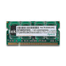 Apacer's Notebook Memory SO-DIMM DDR2-667, Unbuffered DIMM 1GB/2GB SOD PC2-5300 CL5