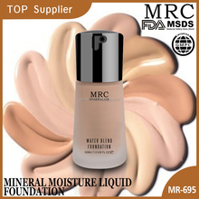 MRC Hot Selling Cheap Prices Brightening Natural Liquid Foundation For Large Pores Skin