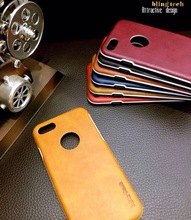 Luxury Design Calfskin PC Leather Hard Case for Iphone 8 / S8 / Y6