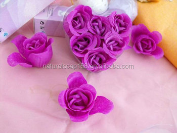 Rose decoration hand washing soap