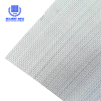 304 316 stainless steel woven net wire mesh rolls
