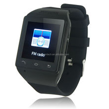 New arrival android smart watch with 1.54 Inch touch screen the smallest watch mobile phone