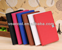 "Glossy Card Holder Slot Leather Wallet Flip Cover Case For Apple Ipad MINI 7""tablet"