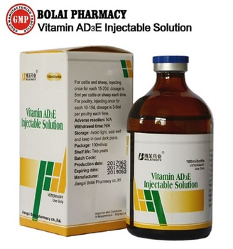 Vitamin AD3E solution for injection