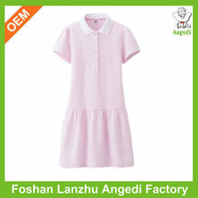 Kids striped t-shirt Salable children plain t-shirt dresses