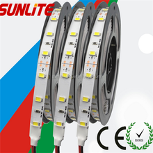Non-waterproof and waterproof High lumen DC12V warm white SMD 5630 Flexible LED strip light